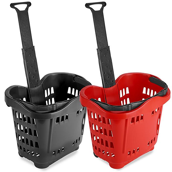 Rolling Shopping Baskets