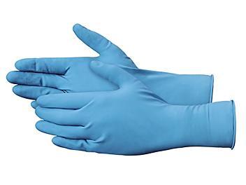 Uline Exam Grade Latex Gloves w/ Extended Cuff