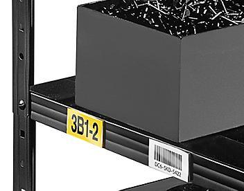 Plastic Label Holders - Magnetic Back