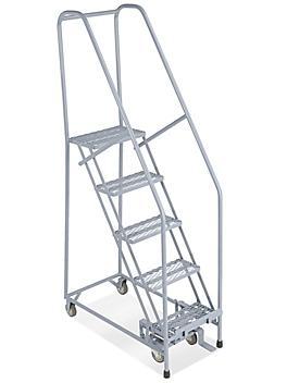 3 Step Narrow Aisle Ladder - Unassembled
