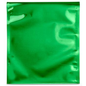 "Metallic Glamour Mailers - 10 x 13"", Green S-10015G"
