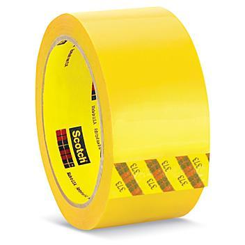 """3M 373 Carton Sealing Tape - 2"""" x 55 yds, Yellow S-10158Y"""
