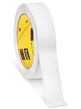 """3M 483 Polyethylene Film Tape - 1"""" x 36 yds, White S-10239W"""