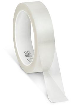 """3M 850 Polyester Film Tape - 1"""" x 72 yds, Clear S-10242C"""