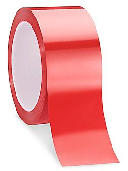 """3M 850 Polyester Film Tape - 2"""" x 72 yds, Red S-10243R"""