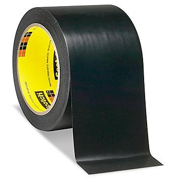 """3M 471 Vinyl Tape - 3"""" x 36 yds, Black S-10255BL"""