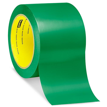 """3M 471 Vinyl Tape - 3"""" x 36 yds, Green S-10255G"""