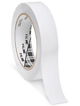 """3M 764 Vinyl Tape - 1"""" x 36 yds, White S-10256W"""