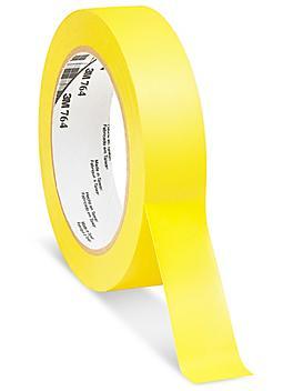 "3M 764 Vinyl Tape - 1"" x 36 yds, Yellow S-10256Y"