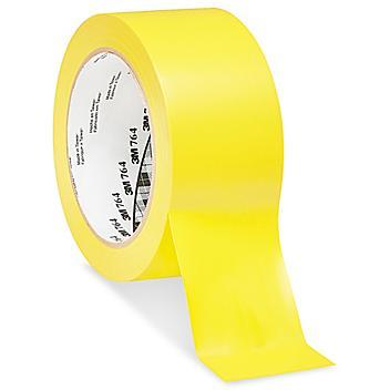 "3M 764 Vinyl Tape - 2"" x 36 yds, Yellow S-10257Y"