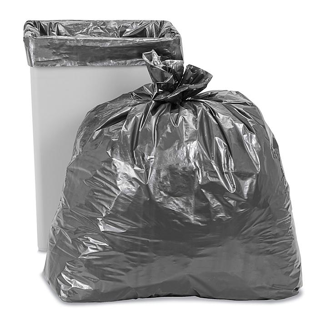 Uline Steel Tuff® Trash Liners - 1.7 Mil, 40-45 Gallon S-10280