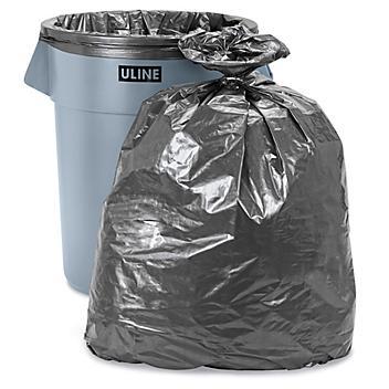 Uline Steel Tuff® Trash Liners - 1.7 Mil, 55 Gallon S-10331