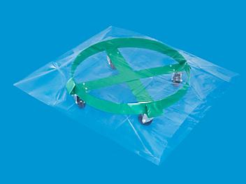 """36 x 36"""" 3 Mil Industrial Poly Bags S-11007"""