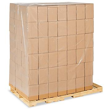 """58 x 46 x 96"""" 4 Mil Clear Pallet Covers S-11104"""