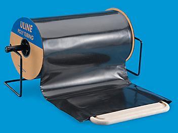 """Black Poly Tubing Roll - 4 Mil, 18"""" x 750' S-11129"""