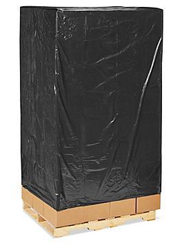 "48 x 40 x 100"" 2 Mil Black Pallet Covers S-11172"
