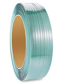 """Uline Polyester Strapping - 5/8"""" x .040"""" x 4,000', Green S-11349"""