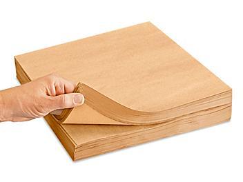 """50 lb Kraft Paper Sheets - 12 x 12"""" S-11421"""