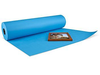"""50 lb Blue Kraft Paper - 36"""" x 1,000' S-11427BLU"""