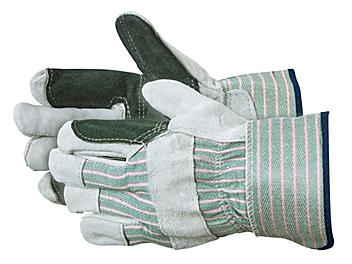 Double Palm Leather Gloves - XL S-11431X