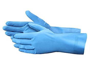 Chemical Resistant Latex Gloves - Unlined, Large S-11433L