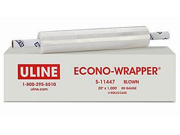 "Econo-Wrapper® - Blown, 80 gauge, 20"" x 1,000' S-11447"