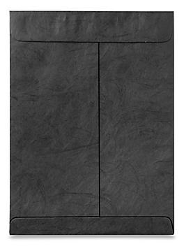 "Tyvek® Envelopes - 9 x 12"", Black S-11494BL"