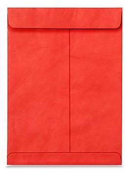 """Tyvek® Envelopes - 9 x 12"""", Red S-11494R"""