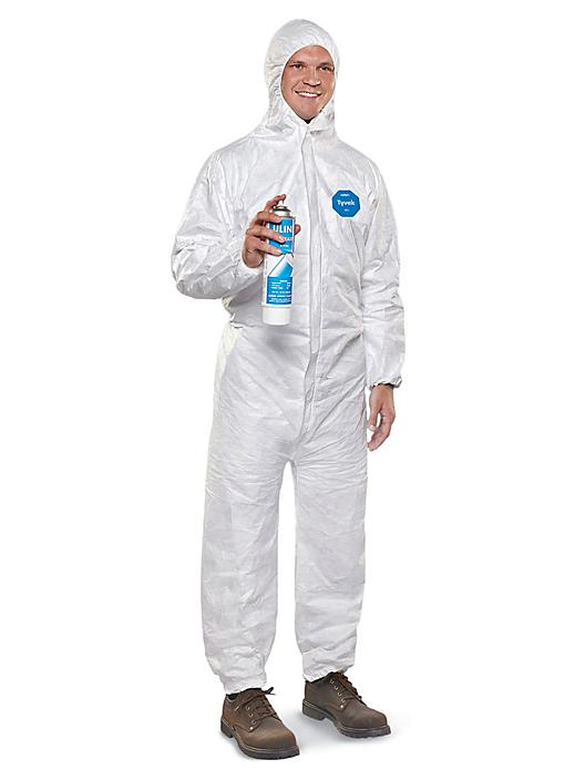 DuPont™ Tyvek® Coverall with Hood - 3XL S-11495E-3X