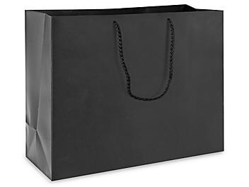 "Matte Laminate Shopping Bags - 16 x 6 x 12"", Vogue"
