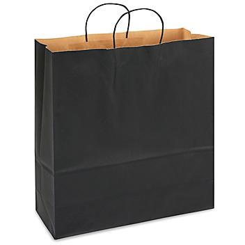 "Kraft Tinted Color Shopping Bags - 18 x 7 x 18 3/4"", Jumbo"