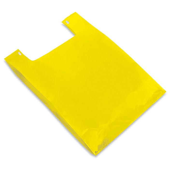 "T-Shirt Bags - 18 x 10 x 30"", Yellow S-13150Y"