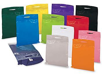 """Die Cut Handle Bags - 12 x 15"""", Assorted S-13157"""