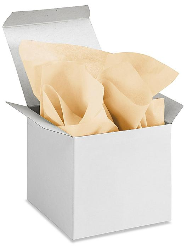 """Tissue Paper Sheets - 15 x 20"""", Khaki S-13177KH"""