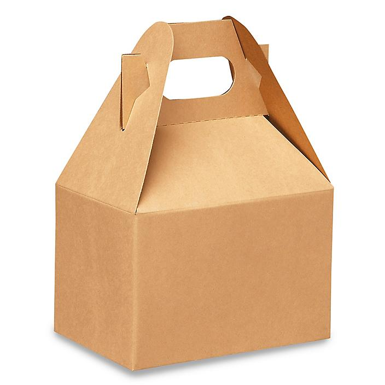 "Gable Boxes - 6 x 4 x 4"", Kraft S-13183"