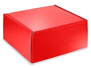 """Colored Mailers - 10 x 10 x 5"""", Red S-13216R"""