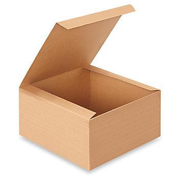 "Gift Boxes - 8 x 8 x 4"", Kraft S-13221"