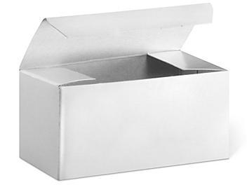 "Gift Boxes - 4 x 2 x 2"", White Gloss S-13222"