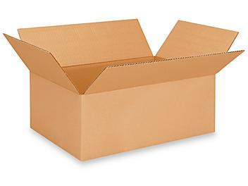 """18 1/2 x 12 1/2 x 7"""" Corrugated Boxes S-13315"""