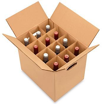 Wine Carrier Box - 12 Bottle Pack S-13343