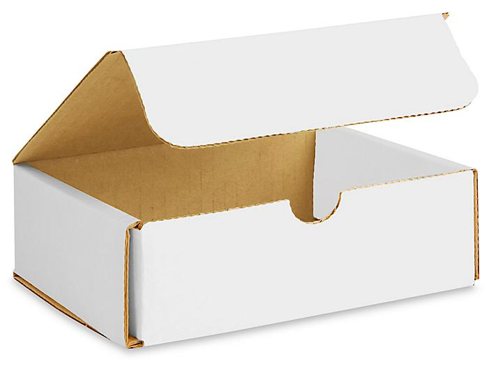 """6 x 5 x 2"""" White Indestructo Mailers S-13359"""