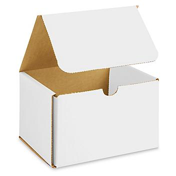 """6 x 5 x 4"""" White Indestructo Mailers S-13360"""