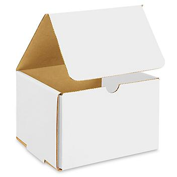 """7 x 7 x 5"""" White Indestructo Mailers S-13361"""