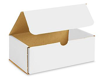 """8 x 5 x 3"""" White Indestructo Mailers S-13362"""