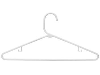 "Tubular Plastic Hangers - 5/16"" S-13388"