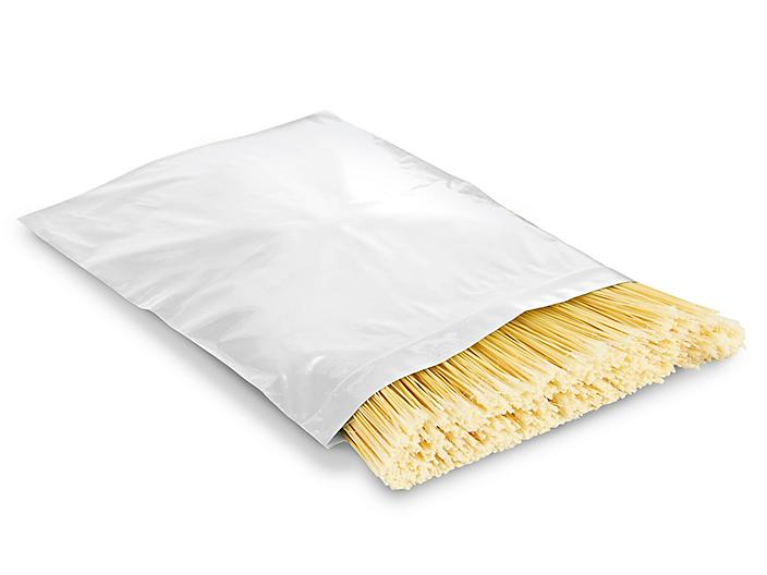 """12 x 15"""" 2 Mil Colored Reclosable Bags - White S-13428W"""