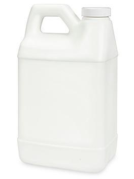 F-Style Jugs Bulk Pack - 1/2 Gallon, White S-13506B