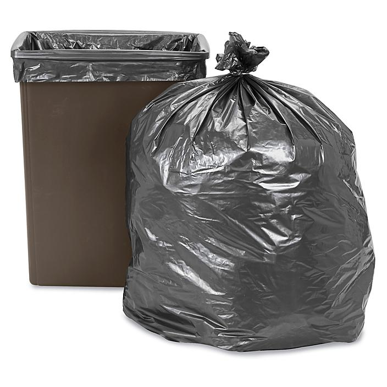Uline Steel Tuff® Trash Liners - 1.7 Mil, 65 Gallon S-13522