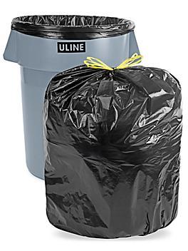 Drawstring Trash Liners - 1.4 Mil, 44 Gallon S-13525