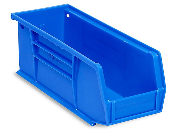 """Plastic Stackable Bins - 11 x 4 x 4"""""""